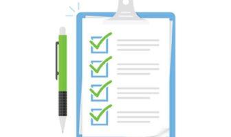 Neuer Waschtrockner - Checkliste