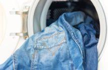 Jenas waschen und trocknen