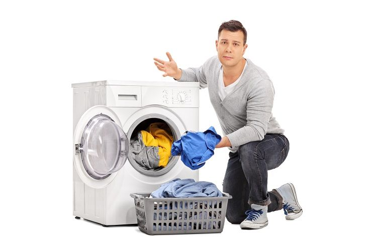 Single Waschtrockner