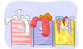 Wäsche sortieren