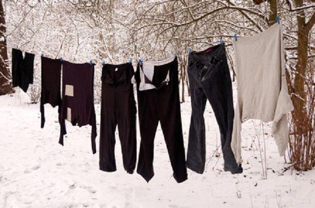 Wäsche trocknen im Winter - Was ist dran am Frost Trocknen?