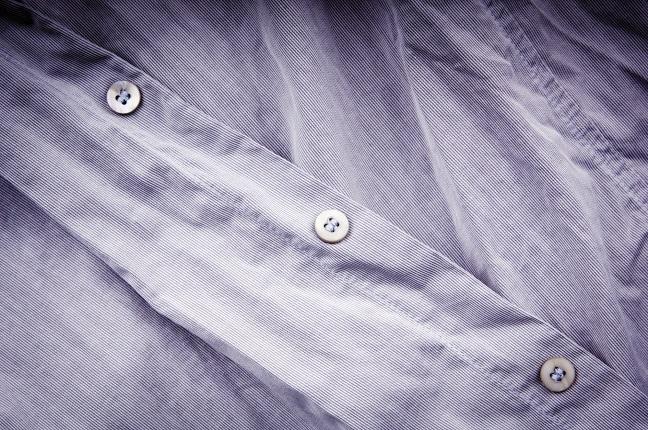 Zerknittertes Hemd